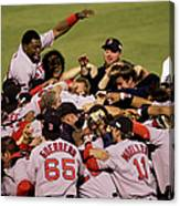 World Series Red Sox V Cardinals Game 4 Canvas Print