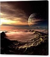Alien Planet, Artwork Canvas Print