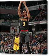 Atlanta Hawks V Indiana Pacers Canvas Print