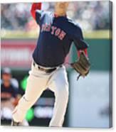 Boston Red Sox V Detroit Tigers 10 Canvas Print