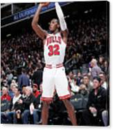 Chicago Bulls V Sacramento Kings Canvas Print