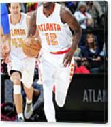 Detroit Pistons V Atlanta Hawks Canvas Print