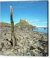 Holy Island Of Lindisfarne - England Canvas Print