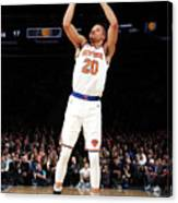 Indiana Pacers V New York Knicks Canvas Print