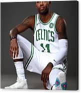 Kyrie Irving Boston Celtics Portraits Canvas Print