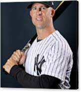 New York Yankees Photo Day 10 Canvas Print