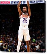 Phoenix Suns V Denver Nuggets Canvas Print