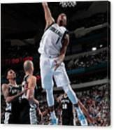 San Antonio Spurs V Dallas Mavericks Canvas Print