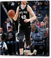 San Antonio Spurs V Memphis Grizzlies Canvas Print