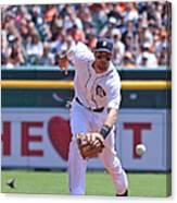 Texas Rangers V Detroit Tigers Canvas Print