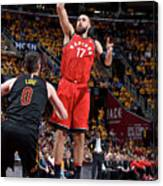 Toronto Raptors V Cleveland Cavaliers - Canvas Print