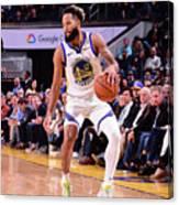 Utah Jazz V Golden State Warriors Canvas Print