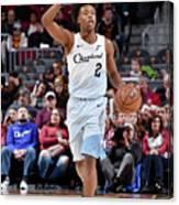 Washington Wizards V Cleveland Cavaliers Canvas Print