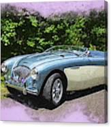 1956 Austin Healey 100-4 M  Canvas Print