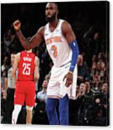 Houston Rockets V New York Knicks Canvas Print