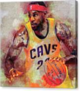 Lebron Raymone James Canvas Print