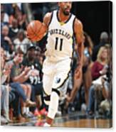 Minnesota Timberwolves V Memphis Canvas Print