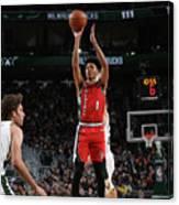 Portland Trail Blazers V Milwaukee Bucks Canvas Print