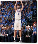 Utah Jazz V Oklahoma City Thunder - Canvas Print