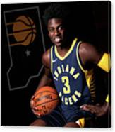 2018-19 Indiana Pacers Media Day Canvas Print