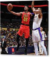 Atlanta Hawks V Los Angeles Lakers Canvas Print