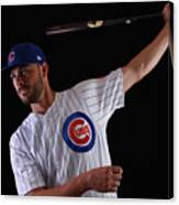 Chicago Cubs Photo Day 12 Canvas Print