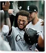 Chicago White Sox V Detroit Tigers - 12 Canvas Print