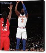 Houston Rockets V New York Knicks Canvas Print