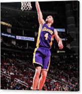 Los Angeles Lakers V Houston Rockets Canvas Print