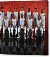 Nba All-star Portraits 2017 Canvas Print