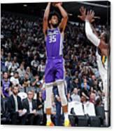 Utah Jazz V Sacramento Kings Canvas Print