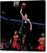 Atlanta Hawks V Brooklyn Nets Canvas Print
