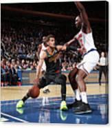 Atlanta Hawks V New York Knicks Canvas Print