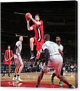 Boston Celtics V Washington Wizards Canvas Print