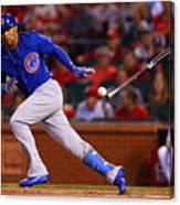 Chicago Cubs V St Louis Cardinals Canvas Print