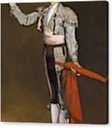 A Matador  Canvas Print