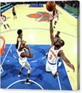 Brooklyn Nets V New York Knicks Canvas Print