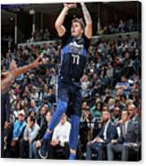 Dallas Mavericks V Memphis Grizzlies Canvas Print