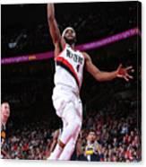 Denver Nuggets V Portland Trail Blazers Canvas Print