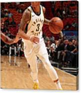 Indiana Pacers V Miami Heat Canvas Print