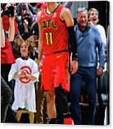Milwaukee Bucks V Atlanta Hawks Canvas Print