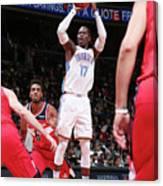 Oklahoma City Thunder V Washington Canvas Print