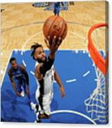 San Antonio Spurs V Orlando Magic Canvas Print