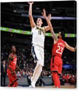 Toronto Raptors V Denver Nuggets Canvas Print