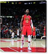 Cleveland Cavaliers V Atlanta Hawks Canvas Print