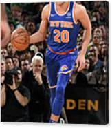 New York Knicks V Boston Celtics Canvas Print