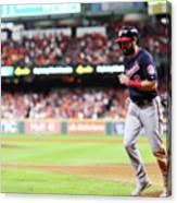 World Series - Washington Nationals V 15 Canvas Print