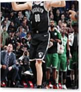 Boston Celtics V Brooklyn Nets Canvas Print