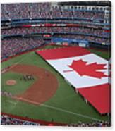 Boston Red Sox V Toronto Blue Jays Canvas Print