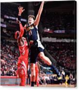 Denver Nuggets V Houston Rockets Canvas Print